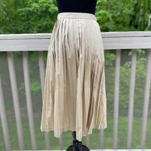 Vintage 80s Evan Picone Highwaisted Pleated Skirt